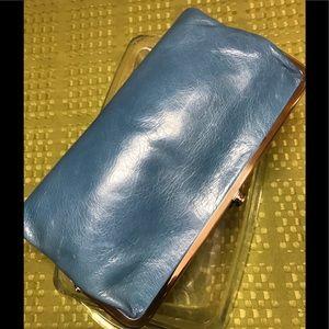 HOBO Lauren wallet blue NWOT